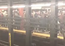 Hundreds of Robyn fans had a massive impromptu dance party on the subway after her concert