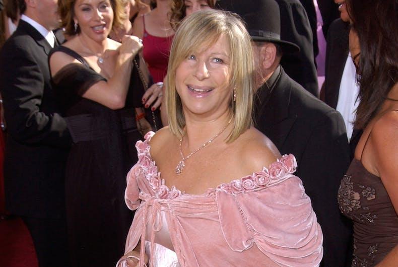 Barbra Streisand, Michael Jackson