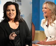 Elisabeth Hasselbeck 'immediately started praying' when she heard Rosie had a crush on her