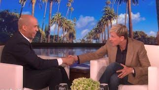 Ellen Degeneres promises to officiate Cory Booker & Rosario Dawson's White House wedding if he wins