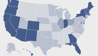 How queer is your state? A huge new survey found that 4.5% of Americans are LGBTQ