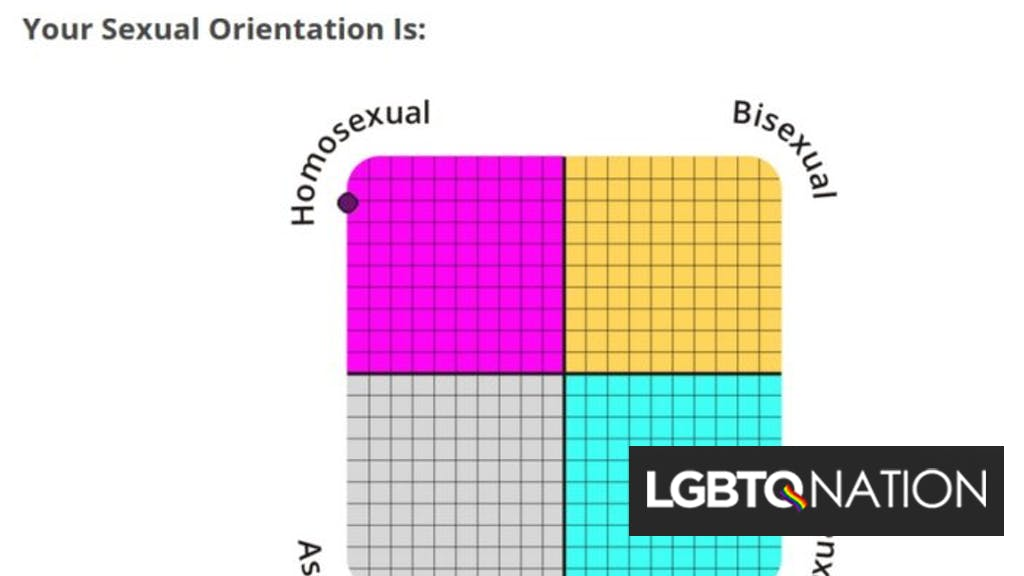 Are you gay bi or straight test
