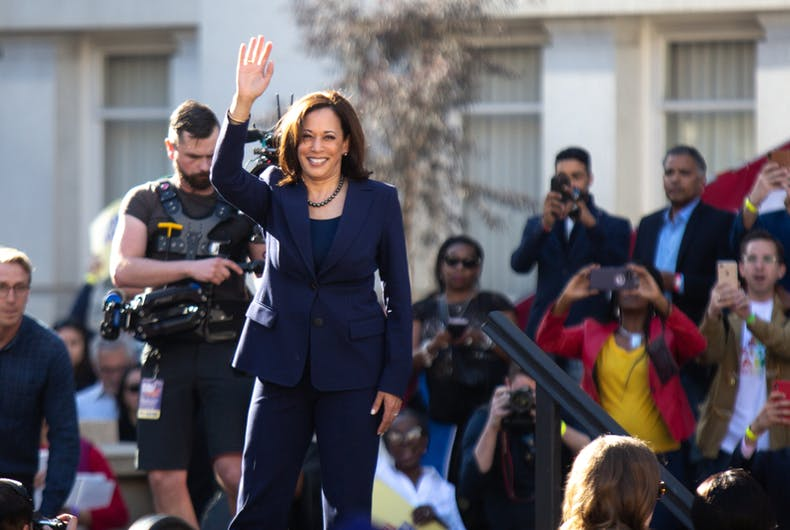 Kamala Harris, sex work