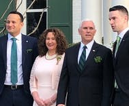 The gay Irish prime minister called out Mike Pence's homophobia right in front of him
