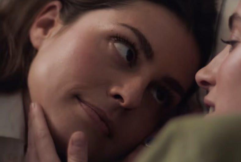 Pol Ralph Lauren, ad, lesbian couple,