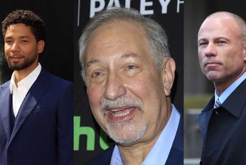 Jussie Smollet, Mark Geragos, and Michael Avenatti