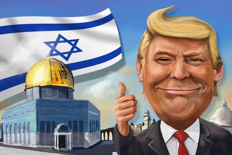 Trump, Jews, Isreal