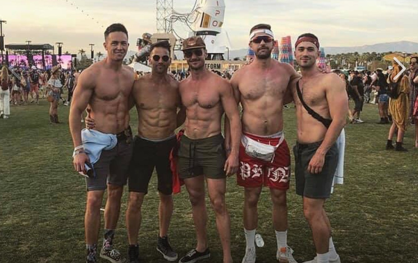Gay muscle party video