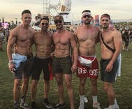 Gay men in Coachella photo with Aaron Schock apologize because they didn't know who he was