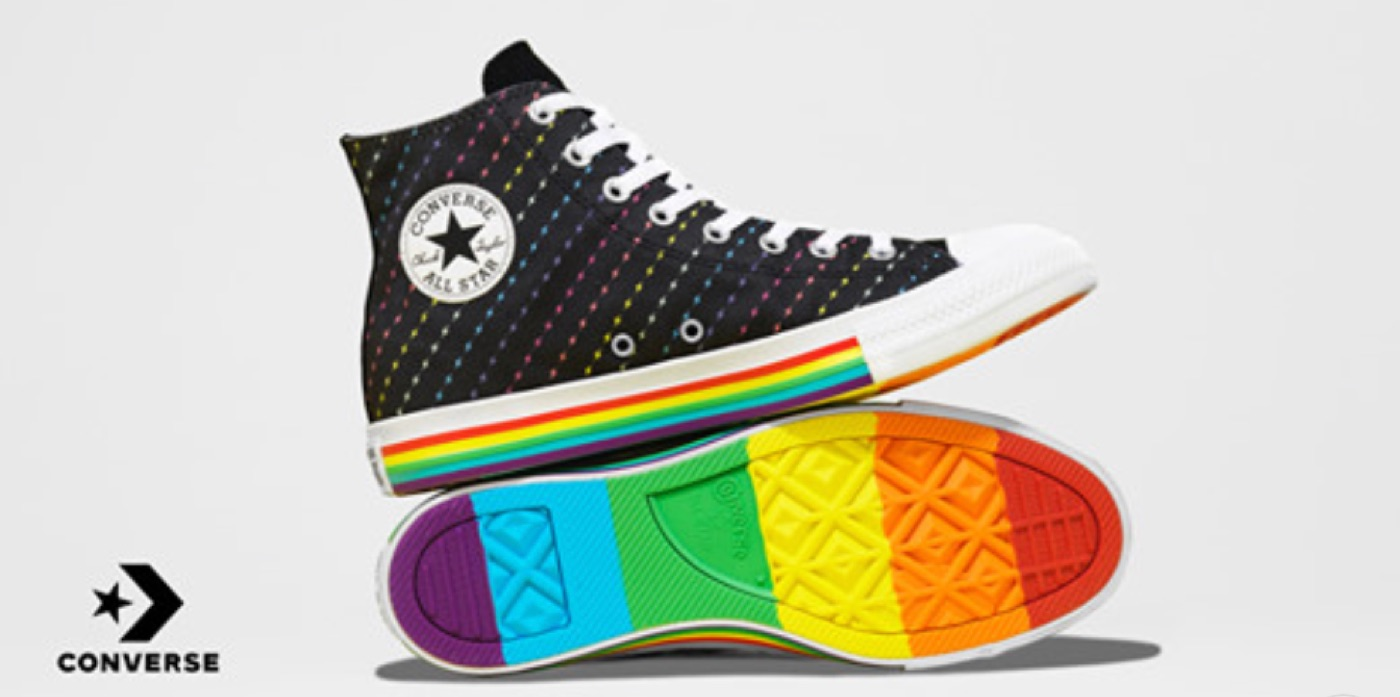 Converse Pride Collection Debuts Sneakers Inspired by the