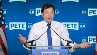 Jimmy Fallon's hilarious Pete Buttigieg impression is so spot on, it's scary