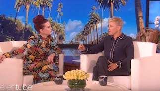 Meghan Mullally thanks Ellen DeGeneres… for her career
