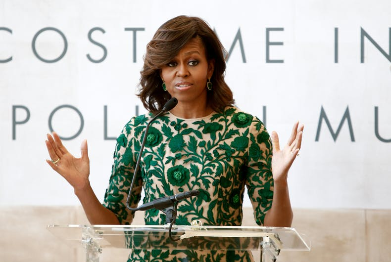 Michelle Obama's scathing description of Trump has anyone