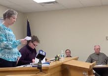 Watch this town clerk publicly apologize for denying a gay couple a marriage license
