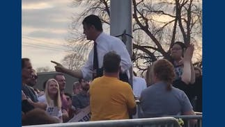 Anti-LGBTQ activists heckled Pete Buttigieg in Iowa, but his response had everyone laughing