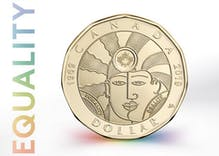 Canada's new LGBTQ coin has been revealed & it's already spurring controversy