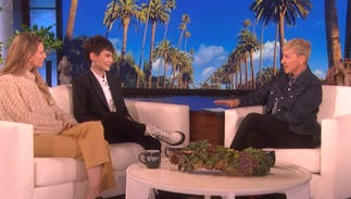 Actor Ian Alexander talked to Ellen about how his religious family came to accept him