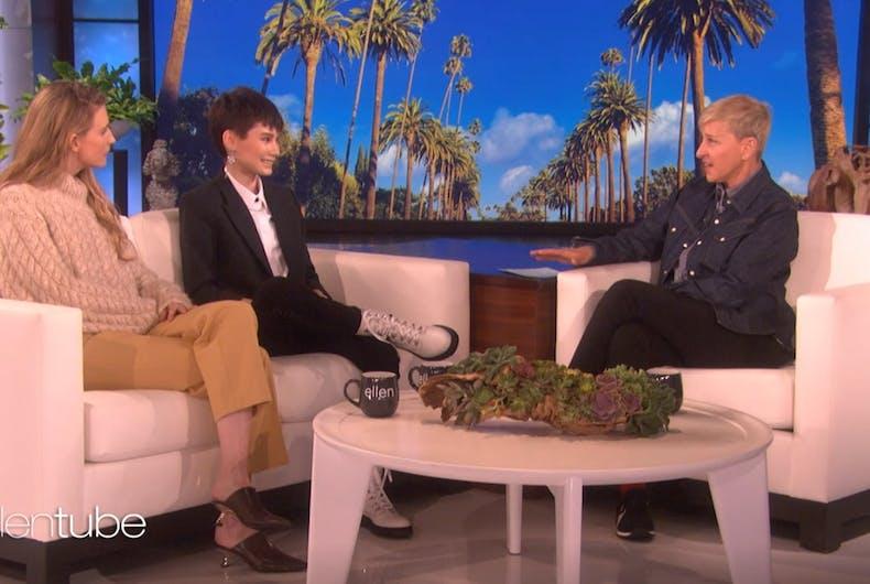 Ian Alexander on Ellen's show
