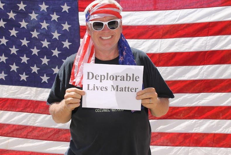 John Kless, trump supporter, death threats