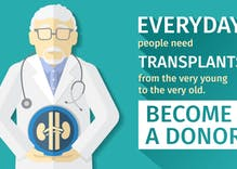 Doctors perform first HIV+ organ donation transplant