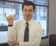 Pete Buttigieg's ASL video thanking a deaf supporter has made history and gone viral