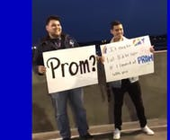 Viral video of bisexual student asking his boyfriend to prom at the airport will melt your heart