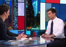 Rachel Maddow grills Pete Buttigieg about coming out so late in life