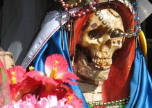 Bishops tell Catholics to stop worshipping this unofficial LGBTQ-friendly saint of death