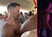 Anti-gay GOP ex-congressman Aaron Schock photographed making out with another man at Coachella