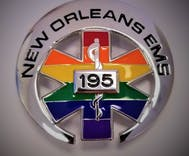New Orleans emergency workers will wear a pride badge to show commitment to LGBTQ people