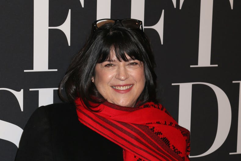 Author E.L. James attends a screening of