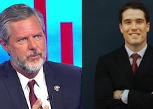 Was notorious homophobe Jerry Falwell Jr. blackmailed by his pool boy with 'racy personal' pics?