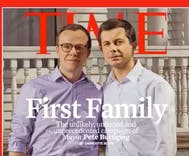 Time Magazine dubs Pete & Chasten Buttigieg the 'First Family' on cover