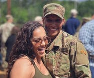 The first black female soldier passed Ranger School. Then she proposed to her girlfriend.