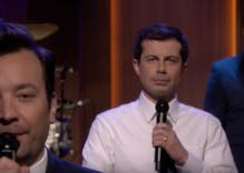 Pete Buttigieg won late night TV when he 'slow jammed' the news with Jimmy Fallon