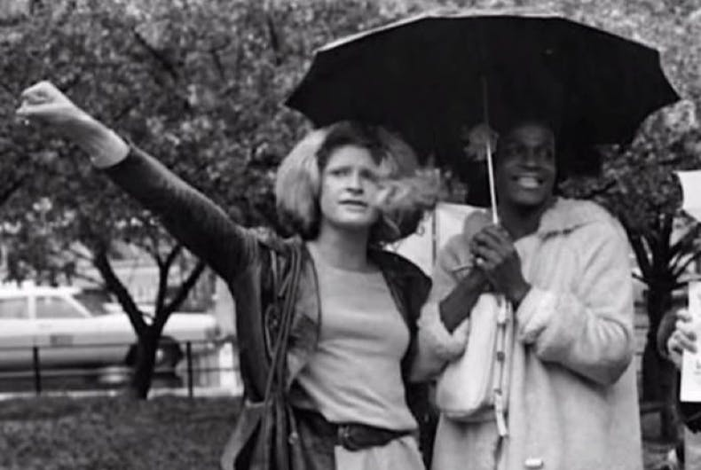 Sylvia Rivera and Marsha P Johnson
