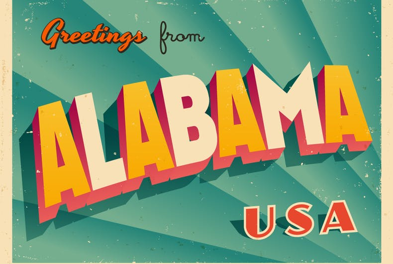 Greetings from Alabama USA