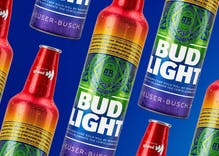 Bud Light reveals new commemorative pride bottle to honor Stonewall's 50th anniversary