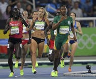 Caster Semenya was told that she can compete in men's track events