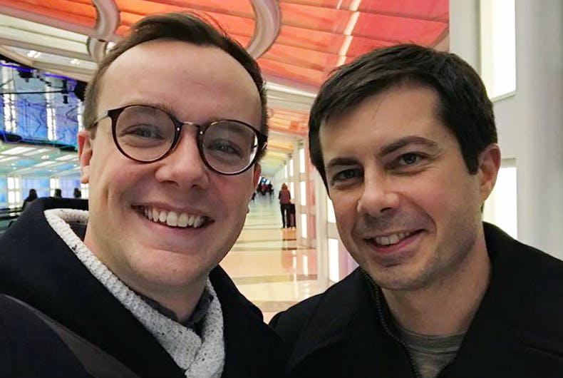 Chasten and Pete Buttigieg