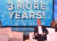 Ellen's show got signed for 3 more years & she used 'Game of Thrones' to announce it
