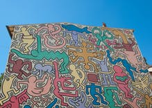 Church demands public school cover up 'obscene' mural inspired by Keith Haring