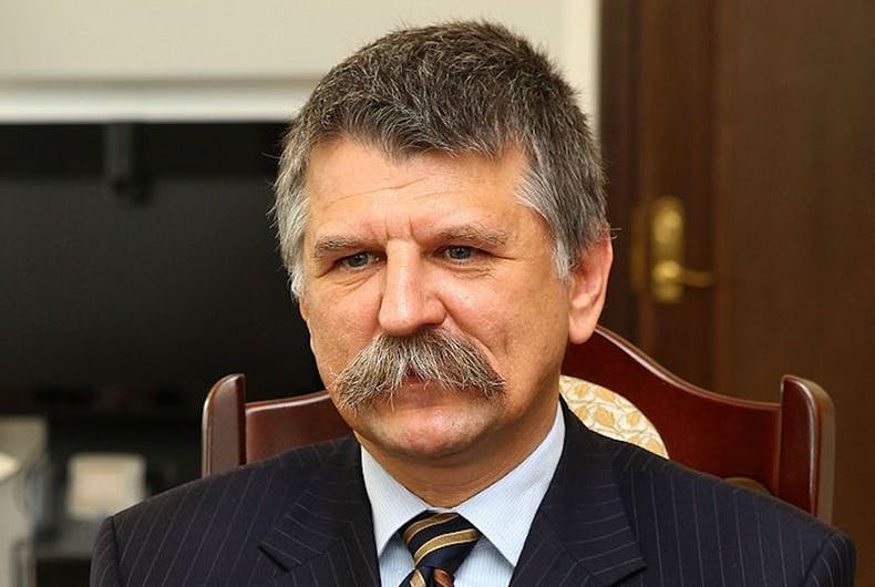 László Kövér, Speaker of the Hungarian Parliament