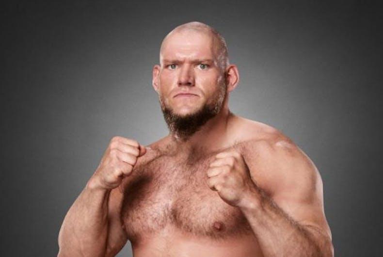 WWE wrestler Lars Sullivan