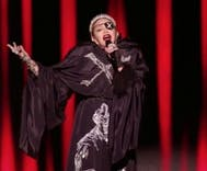 "Madonna surprised ""non-political"" Eurovision with a message for Isreal & Palestine"