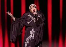 """Madonna surprised """"non-political"""" Eurovision with a message for Isreal & Palestine"""