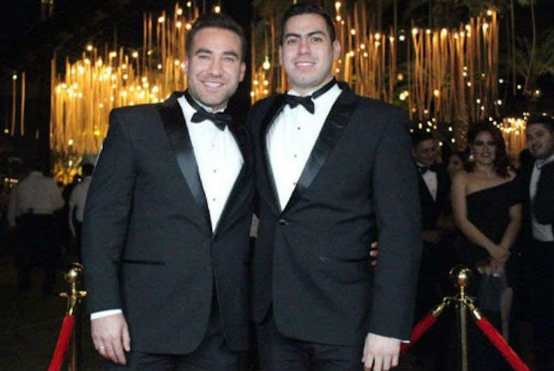 Rubén Veliz and Edwin Contreras
