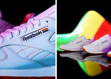 Reebok comes out with 2019 pride sneakers featuring understated classic design