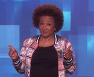 Wanda Sykes guest hosted Ellen's show. The nonstop lesbian jokes were frequent & funny.