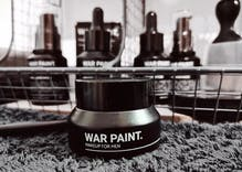 Someone is trying to sell makeup to men by calling it 'war paint'